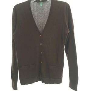 Medium Chocolate Brown Ralph Lauren Cardigan
